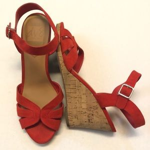 DV8 Dolce Vida wedge shoes size